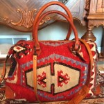 vintage ralph lauren carpet bag