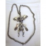 vintage tortolani articulated tribal necklace