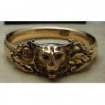 victorian lions head bracelet