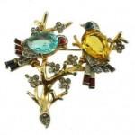 vintage alfred philippe trifari brooch