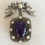 vintage christian dior musical brooch