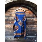 vintage 1980s large ralph lauren silk scarf