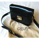 vintage celine cross body shoulder bag