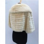 vintage ermine and mink stole