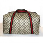 vintage gucci travel duffel bag