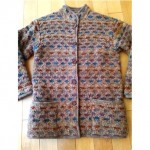 vintage missoni for bloomingdales reversible sweater jacket