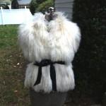 vintage mongolian tibetan lamb vest
