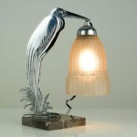 vintage 1930s french art deco table lamp