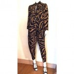 vintage normal kamali print jumpsuit