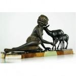 vintage 1920s french art deco sculpture