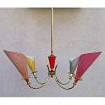vintage 1950s italian chandelier