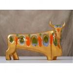 vintage 1950s sascha brastoff ceramic bull