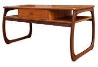 vintage 1960s teak coffee table