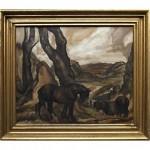 vintage anton locke painting