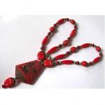 vintage art deco pharaoh necklace