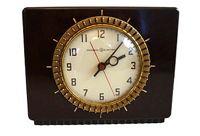 vintage general electric bakelite clock