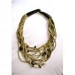 vintage gerda lynggaard monies necklace
