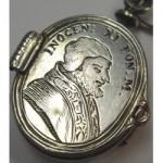 antique 17th century pope locket