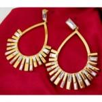 vintage valentino earrings
