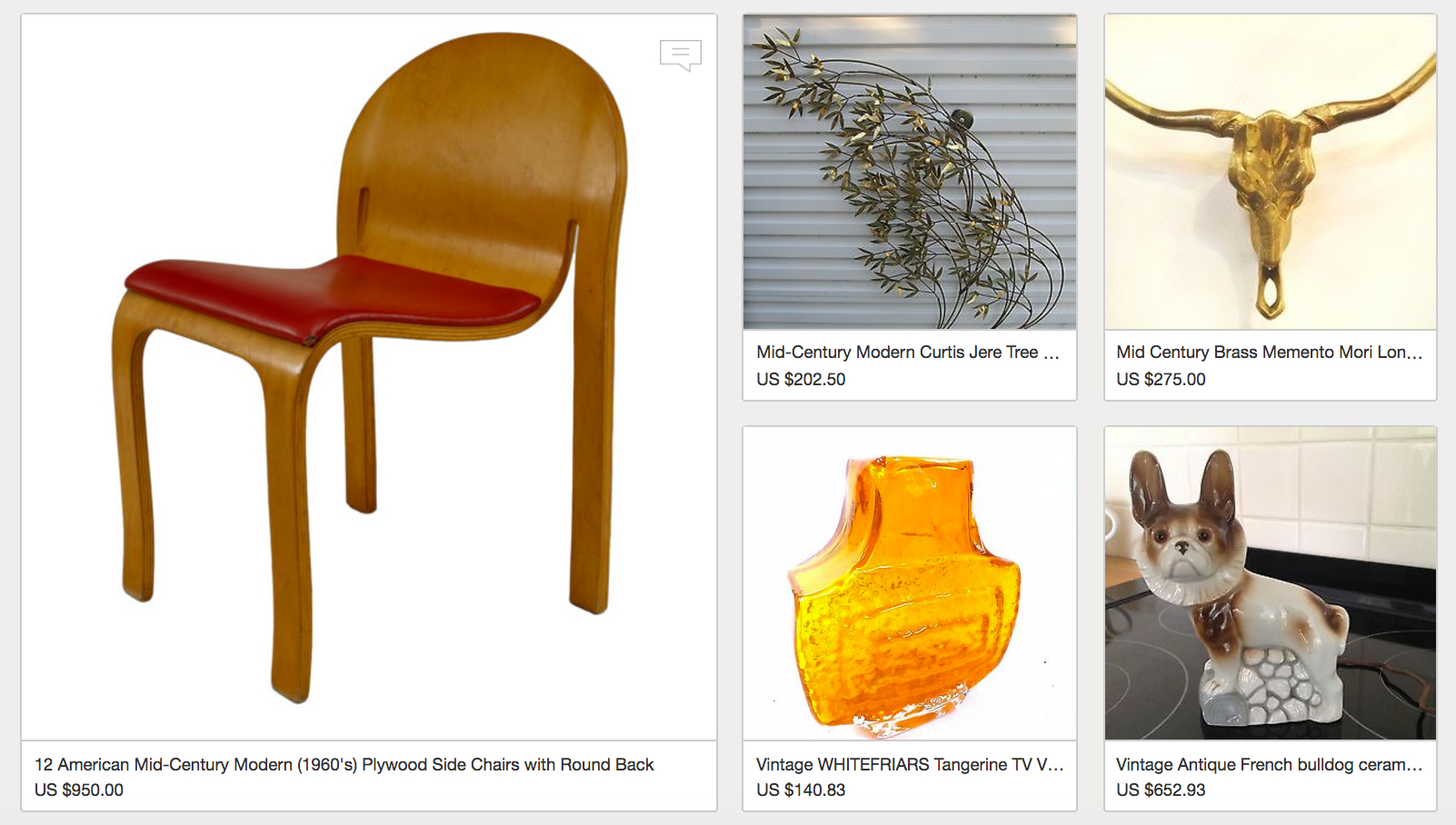 eBay Vintage Home Roundup